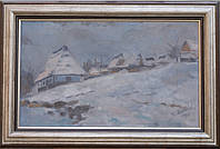 """Картина """"Зима в Карпатах"""" Микита В. В."""