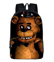Школьный городской рюкзак Пять ночей с Фредди / Five Nights At Freddy's Purple Freddy Plush Toys, фото 1