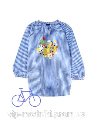 Платье-накидка для творчества на девочку от lupilu германия.