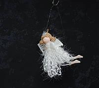 Новорічна іграшка - літаючий ангел, фото 1
