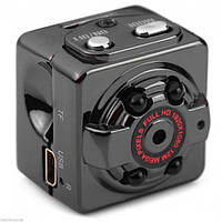 Микро камера, Мини видеокамера sq8 + ночная съемка и датчик движения