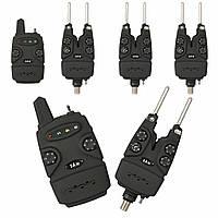 Индикатор поклевки DAM набор в кейсе Multi-Color Wireless Alarm Set 3+1 (52398)