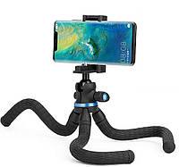 Гибкий штатив Ulanzi TT20s с креплением для смартфонов и площадкой для камер (62075), фото 1