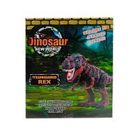 Динозавр 8509 (36шт) 33см,звук, свет, ходит, на бат-ке, в кор-ке, 18-20,5-10см