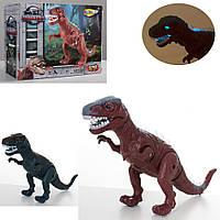 Динозавр NY007-B (42шт) 39см, звук, свет, ходит,подвиж.детале, 2цв, на бат, в кор-ке, 19-15-10см