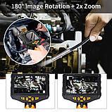 """Відеоендоскоп NTS300 Teslong з монітором 4,5"""" 3 метри 7,6 мм відеоскоп бороскоп ендоскоп технічний цифровий, фото 8"""