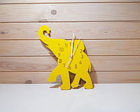 Декоративные Часы в Детскую Комнату - Настенные - Слон - 30*30 см
