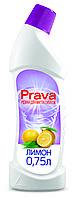 Жидкость для чистки туалетов лимон, 0,75 л