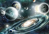 Фотообои флизелиновые 3D 416x254 см Космос и звезды (11896CN)
