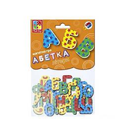 """Магнитная игра Vladi Toys """"Абетка"""" (Укр) (VT5900-02)"""
