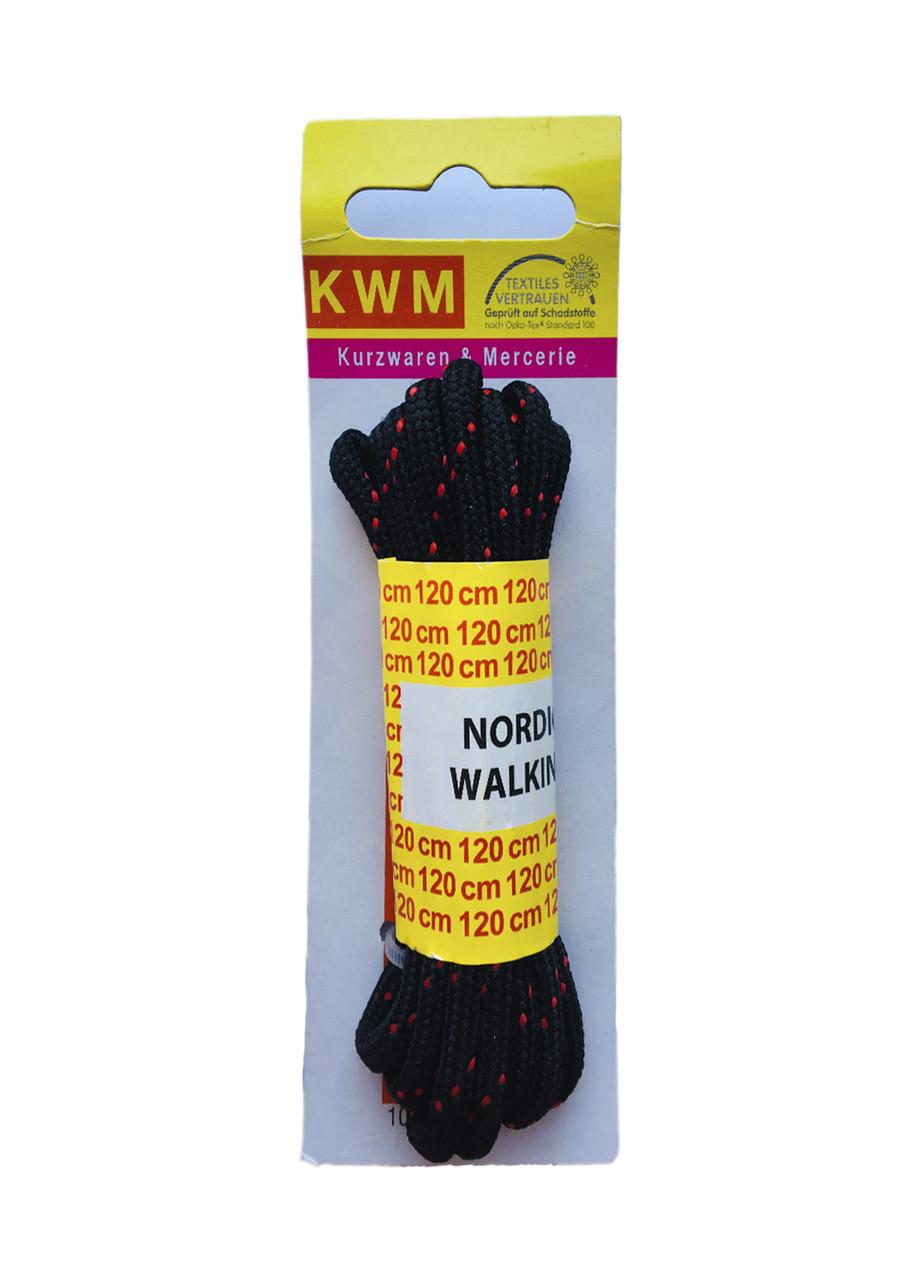 Шнурки красные 120 см KWM