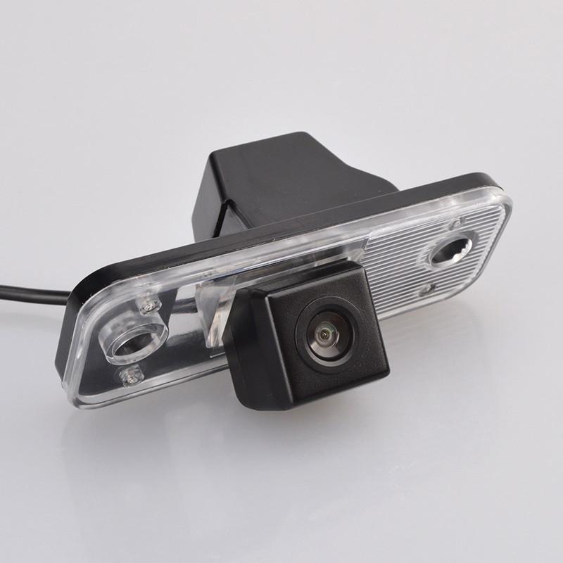 Штатная камера заднего вида My Way MW-6030. Hyundai SantaFe 2006-2012