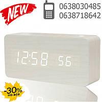 Настольные часы дерево VST-862