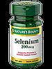 Nature's Bounty Selenium 200 mcg 100 tab