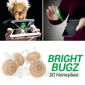 Магические 3D пчелы Magic lights