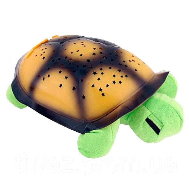 Проектор ночник звездного неба Черепаха Turtle Night Sky | Зеленый