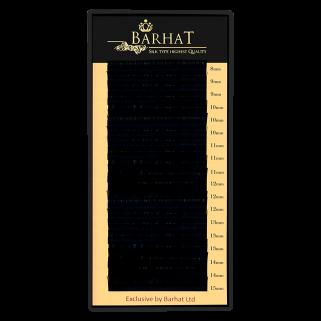 Ресницы для наращивания Barhat 0,07 C mix (растяжка 10/12/14)