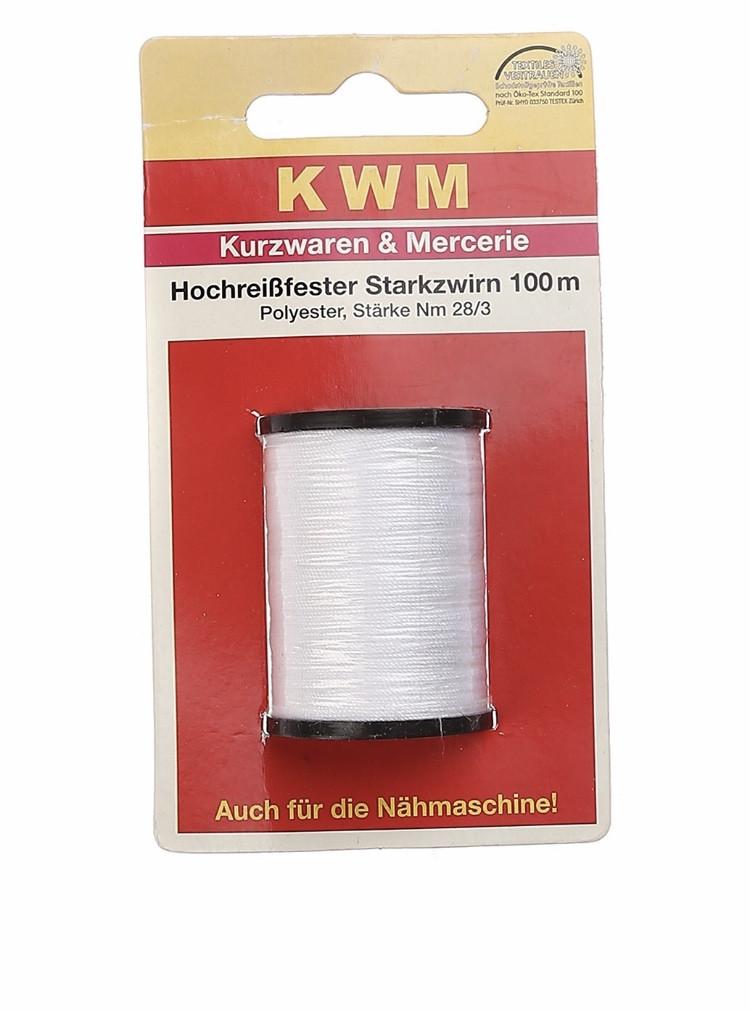 Швейная нить (28/3*100м) KWM