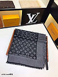 Хустку, шаль, палантин Луї Вітон з люрексом, якість ААА, фото 3