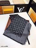 Хустку, шаль, палантин Луї Вітон з люрексом, якість ААА, фото 4