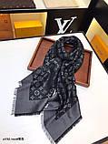 Хустку, шаль, палантин Луї Вітон з люрексом, якість ААА, фото 5