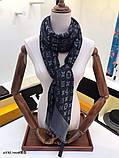 Хустку, шаль, палантин Луї Вітон з люрексом, якість ААА, фото 6