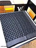 Хустку, шаль, палантин Луї Вітон з люрексом, якість ААА, фото 8