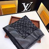 Хустку, шаль, палантин Луї Вітон з люрексом, якість ААА, фото 10