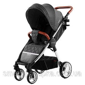 Коляска прогулочная CARRELLO Milano CRL-5501 Solid Grey +дождевик L /1/