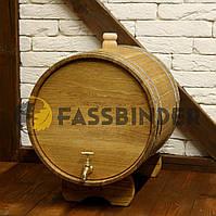 Жбан дубовый (бочка) для алкоголя и напитков Fassbinder™ 30 литров