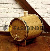 Бочка дубовая (жбан) для вина и коньяка Fassbinder™ 10 литров