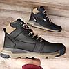 Чоловічі зимові черевики Diesel Black. Натуральна шкіра та хутро., фото 6