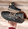 Чоловічі зимові черевики Diesel Black. Натуральна шкіра та хутро., фото 5