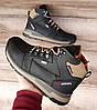Чоловічі зимові черевики Diesel Black. Натуральна шкіра та хутро., фото 4