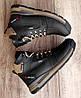 Чоловічі зимові черевики Diesel Black. Натуральна шкіра та хутро., фото 3