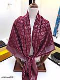 Хустку, шаль, палантин Луї Вітон з люрексом, фото 6
