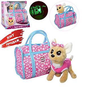 Интерактивная собачка Кикки в сумочке со световыми эффектами, фото 2
