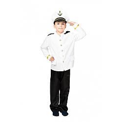 Карнавальный костюм КАПИТАН  для мальчика 5,6,7,8,9,10 лет детский маскарадный костюм КАПИТАНА КОРАБЛЯ