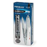 Ручка маслянная Pensan Global 21, черная 0,5