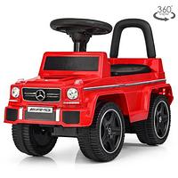 Детская каталка-толокар JQ 663-3 Джип красного цвета.