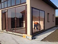 Мягкие окна, пвх шторы,тенты для беседок,террас,веранд из прозрачной плёнки ПВХ