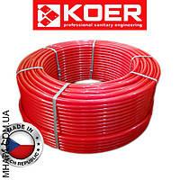 Труба для теплого пола с кислородным барьером KOER d16х2 мм, Чехия