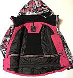 Термо Куртки для дівчаток р. 164-170, фото 5