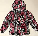 Термо Куртки для дівчаток р. 164-170, фото 6