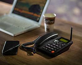 Стационарный сотовый GSM-телефон Termit FixPhone v2 rev 4 Большой Экране, Большие Кнопки