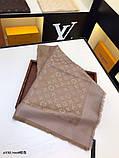 Хустку, шаль, палантин Луї Вітон з люрексом, якістю ААА, фото 6