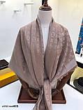 Хустку, шаль, палантин Луї Вітон з люрексом, якістю ААА, фото 4