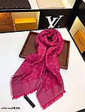 Платок, шаль, палантин Луи Витон с люрексом, качеством ААА, фото 3