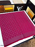 Платок, шаль, палантин Луи Витон с люрексом, качеством ААА, фото 7