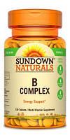 Sundown Naturals B Complex 100 tab, фото 1